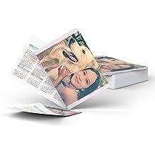 Fotocenter Calendarios Personalizados de Bolsillo - Imprime tu Pack DE 20 calendarios idénticos.
