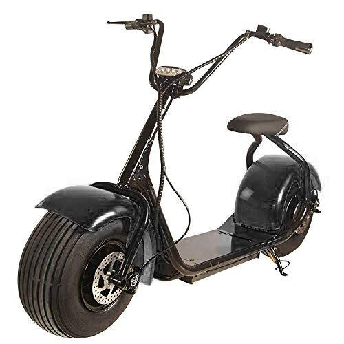 E-Scooter Chopper N1, E-Motor, 25 km/h, Elektroroller, E-Roller, E-Tretroller,Elektro-Roller, Produktvideo, Österreich,Schwarz