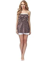 Merry Style Pijamas Conjunto Camisetas y Pantalones Ropa de Cama Mujer MSFX587