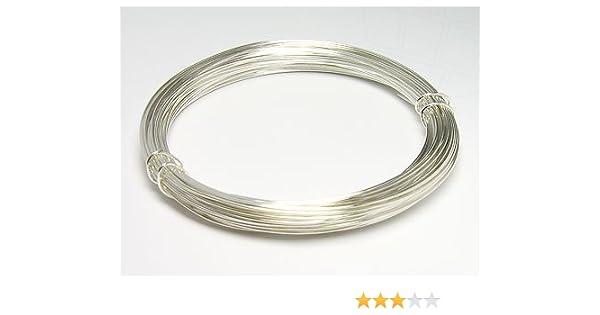 Silberdraht hart 0,6mm (silber), 12 Meter: Amazon.de: Küche & Haushalt