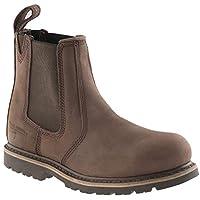 Buckler B1150SM Buckflex Safety Work Boots Chocolate Oil Men
