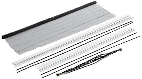 101420107-CU Malla anti-polen Hecht International con cinta de velcro 130 x 150 cm en antracita 1 unidad 130 x 150 cm