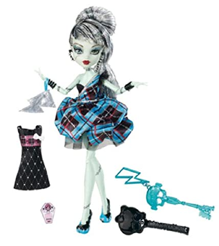 Monster High Poupée Frankie Stein - Tenue de Soirée