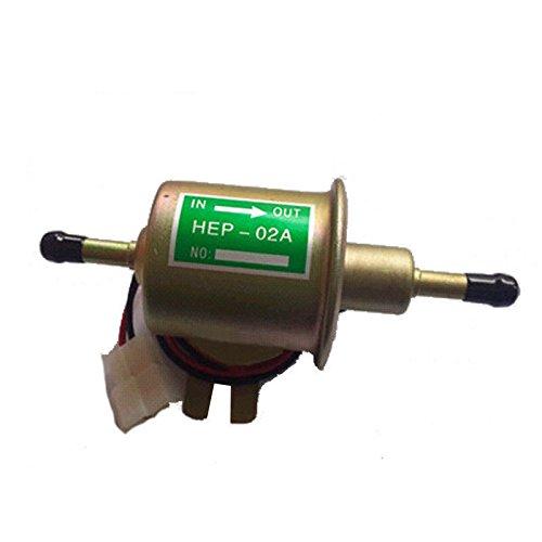 Preisvergleich Produktbild Heavy Elektrisch Kraftstoffpumpe Benzinpumpe HEP-02A 12V für Metall Intank Diesel Benzin Booten