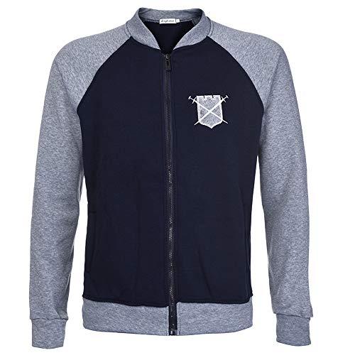 ITISME TOPS Mens Big Size Splicing Pullover Langarm mit Kapuze Sweatshirt Tops Bluse Winter Warm halten