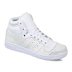 adidas Originals Womens Top Ten Hi W Ftwwht and Cblack Basketball Shoes - 6 UK/India (39.33 EU)