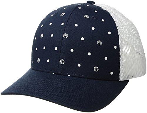 Columbia Damen PFG Mesh Ball Cap, Damen, Coll Navy Polka Dot, One Size Columbia-mesh-hut