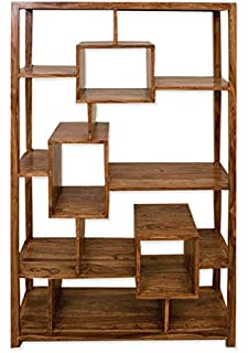 Cube Mango Wood Quirky Design Bookcase