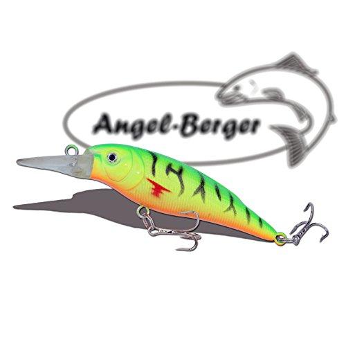 Deep Shad 3D Wobbler Fire Tiger Angel Berger Hardbait