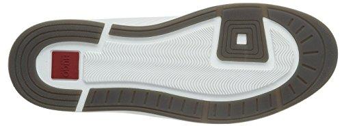 Hugo Fusion Midc Ltma 10191222 01, Sneakers Hautes Homme Blanc (White 100)