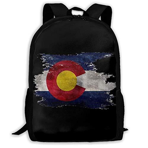 Qfunny Rucksack Backpack for Men Women Colorado