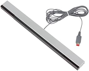 New World WII Wired Remote Sensor Bar Infrared Ray Inductor (Silver)