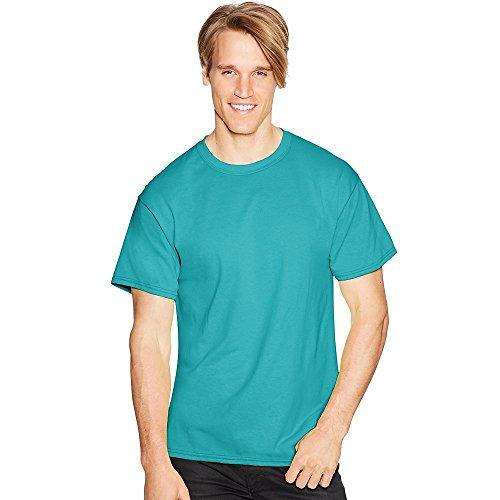 Hanes 170 ml Tagless ComfortSoft T-Shirt Gr. XXL, türkis (Xxl Hanes Tagless T-shirt)