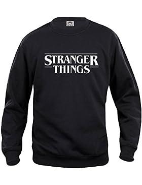 Mister Patch - Felpa Girocollo Stranger Things - ottima qualità - prodotto non ufficiale personalizzato