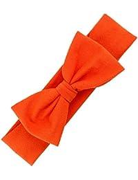 Haarband - SODIAL(R)Haar-Accessoires Baby Haar Weich Mesh Bowknot Haarband (orange)