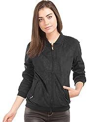 US POLO Womens Cotton Down Jacket (UWJK0155_Blue_Large)