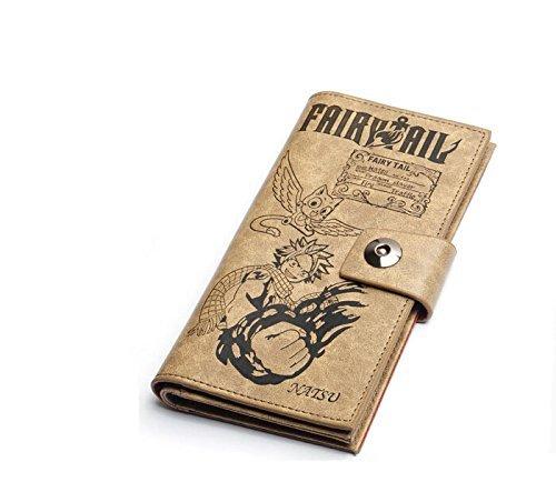 Geld Lange Brieftasche (Japanische Fairy Tail lange Männer Brieftasche Geldbörse Cartoon-Geburtstags-Geschenk)