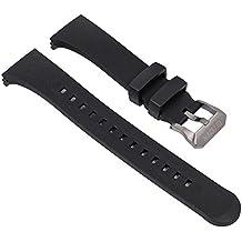 Ersatzband Uhrenarmband Polyurethan Band schwarz passend zu Citizen Promaster Marine BN2024-05E 28574