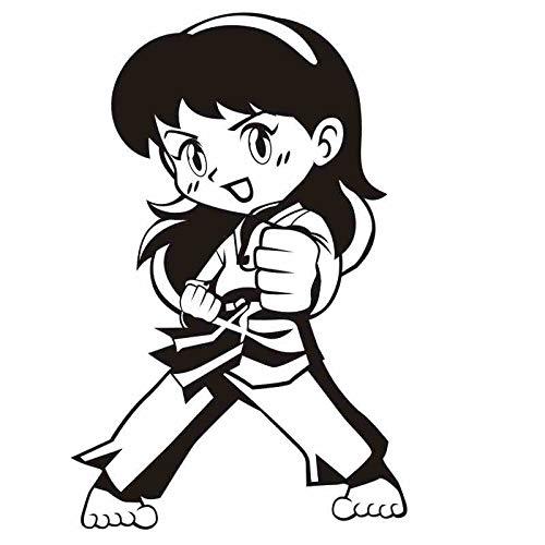 Taekwondo Club (58 * 89 cm Taekwondo Boxing Club Judo Karate Aufkleber Kick Boxer Spielen Auto Aufkleber Free Combat Poster Vinyl Striker Wandtattoos Decor)
