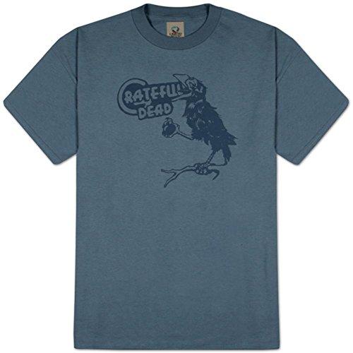 Grateful Dead - Birdsong Oben T-Shirt, L - Lake (Dead Short T-shirt Sleeve)