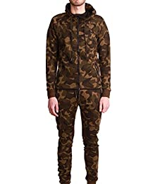 Ensemble Survêtement Jogging Tech Cabaneli Camo Kaki Metric