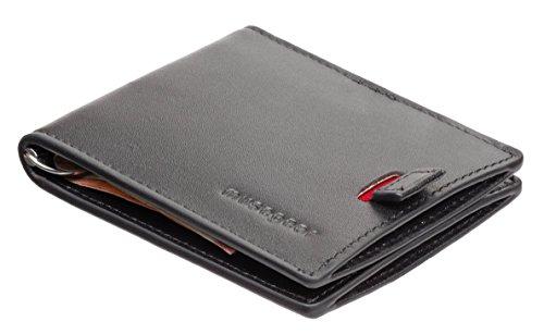 3e5be1e93db7f musegear® Wallet - Ultra-schmales Portmonee mit Kartenhalter für Herren - 8  Karten