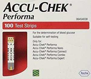 Accu-Chek Performa Test Strips x 100