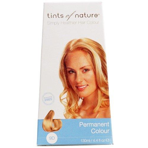 Teinture 9D: Blond clair doré