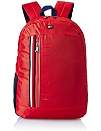 Tommy Travel Gear 24.29 Ltrs Red Laptop Backpack (TH/BIKOL04CRO)