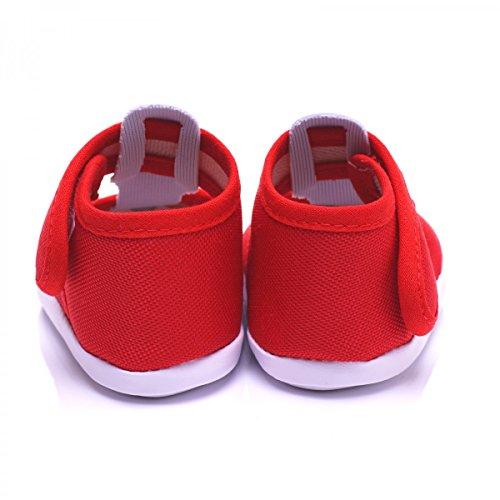 Sapatos Sapatos Bebê Rastejando Bs118 De Toma Vermelho Bebê De qFwgIx