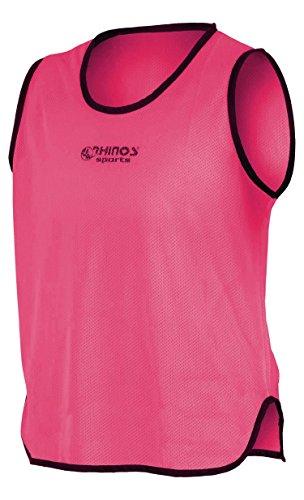 RHINOS sports Trainingsleibchen, Markierungshemd pink M