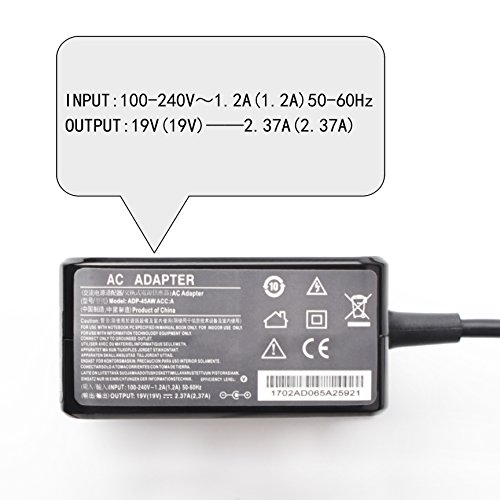 45 W 19 V 2.37 a caricabatterie per Asus C202SA