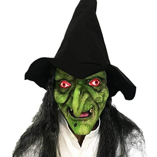 ZAMAC Halloween Maske Horror Herren Latex Gruselige Blutige -