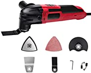Oscillating Multi-Tool,Cordless Oscillating Tool Kit With Variable Speed,for Cutting, Sanding, Trimming and Re