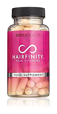 Brock Beauty Hairfinity® Healthy Hair Vitamins 60 Capsules (1 Month Supply)