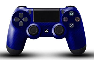 Custom PS4 Controller - Blue Carbon