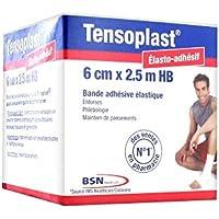 Tensoplast HB Elastische Pflasterbinde, 2,5mx6cm preisvergleich bei billige-tabletten.eu