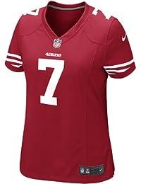 Nike San Francisco Niners NFL Game Team Jersey Camiseta de Manga Corta, Mujer, (