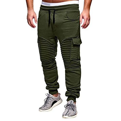 Manadlian Hosen Herren Chino Hose Stretch Jeans Straight H1245 Chino Cargo Hose Jayden - Lässiger Look mit Cargo-Hose - viele Funktionelle Taschen - klasse kombinierbar - Regular Fit (Mc Hammer Herren Hose)