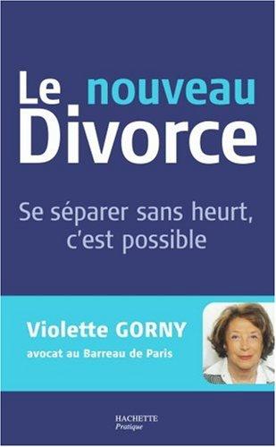 Le nouveau divorce
