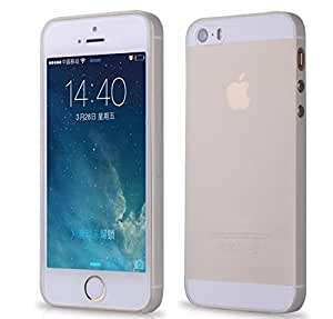 Baseus Wings 0.4mm Ultra Thin Back Case Cover for iphone SE 5 5S- Semi transparent