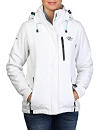Geographical norway- Chaleco Tchika Lady Blanco