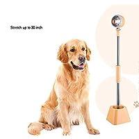 AuLink Perro Gato Mascota Secador de Pelo Perezoso Soporte Ajustable 180 Grados Giratorio de Manos Libres Base de pie
