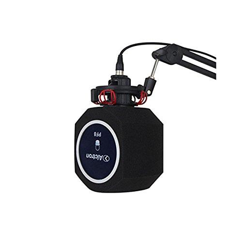 Nobsound Professional Einfache Studio Mic Mikrofon Bildschirm; Akustikfilter; Desktop-Aufnahme Wind-Bildschirm; Vocal Studio Sound Recording Stand Reflexionsfilter Schaum (PF8)