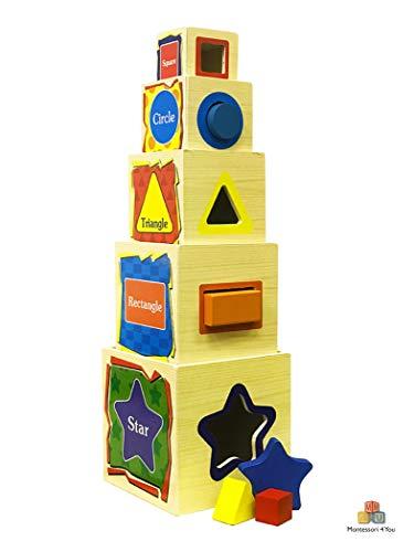 Torre di Cubi - Wisdom Shape Set Box