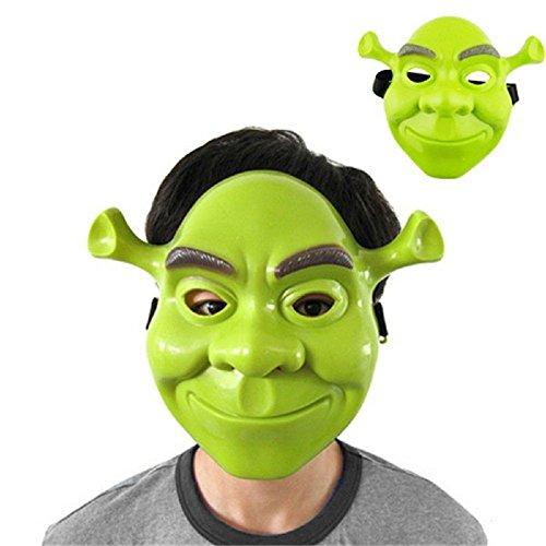 Inception Pro Infinite Maske für Kostüm - Verkleidung - Karneval - Halloween - Shrek Grüne Farbe - Erwachsene - Unisex - Frau - Mann - Jungen