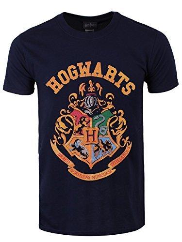 Official Harry Potter Hogwarts Crest Men's T-Shirt (M)