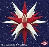 Herrnhuter Sterne - Innenbereich, Sternkette Weiss/Rot