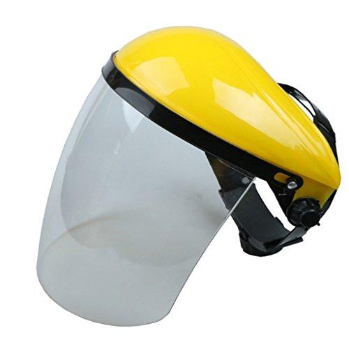 Blesiya Casco Cappello A Visiera Utilizzato Fusione Adatto per Industria Meccanica Macinazione Chimica - Bianca