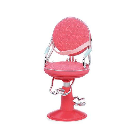 Our Generation - Frisierstuhl mit pinken Herzen - Puppen Mit Herz